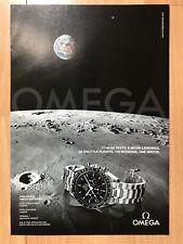 Omega Speedmaster Moon 2007 Advertisement Pub Ad Werbung