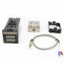 Digital Pid Temperature Controller 100 240vac40a Ssrk Thermocouple Sensor