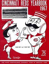 1967 CINCINNATI REDS PROGRAM PHOTO CELEBRATING BEING THE FIRST MLB TEAM , 8x10