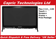 Genuine Lenovo Flex 2-14 20376 Touch Digitizer 14D LED LCD Display Panel Screen