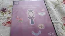 Brother Embroidery Card #768 TASSLES AND TRIMS by Louisa Meyer USED Pre-Own Cond