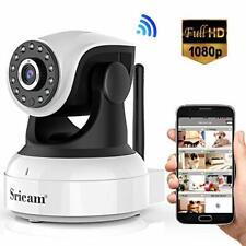 Sricam Wifi Security Camera,IP Indoor Camera 1080P,CCTV Camera with Night