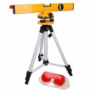 Laser / Spirit Level Kit Rotary 360 Degree Tripod Lightweight Measure Ruler