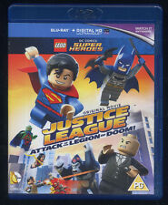 LEGO Super Heroes ATTACK of the LEGION of DOOM! - Blu-Ray UK edition BR 006
