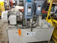 Hydraulic Power Pump Unit 30 Hp Motor 230460 Volt 3 Phase 53 Gpm 750 Psi