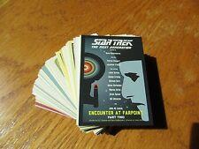 Star Trek The Next Generation Portfolio Prints Series 2 Complete Base Set - TNG