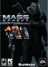 Mass Effect Trilogy 1 2 3 Collection (PC DVD) NEW *Fast Post from Sydney*