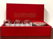 Turkish Tea Glass   Set of 12 pcs  (6 cups+6 saucers) gold rim