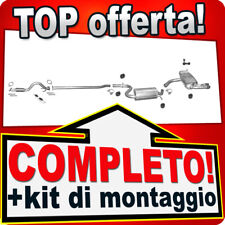 Scarico Completo AUDI A3 Sportback 1.4 TFSI 2007-2012 Marmitta +Tubo T65