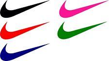 2pc Nike Swoosh Decal Window Sticker New Vinyl