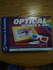 Optical Science and Art Experiment Kit by Thames & Kosmos New in Box