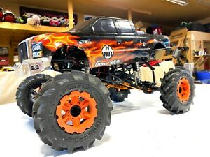 RCSparks Collection: FLAMiNG Axial SMT10 1:10 scale 4x4 Monster Truck - RARE!