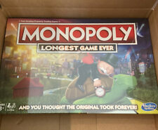 Hasbro Monopoly Longest Game Ever Board Game New IN HAND quick ship