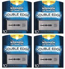 *40 Wilkinson Sword Double Edge Blades fits Schick Gillette Safety Razor Germany