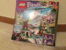 New Lego Friends Jungle Bridge Rescue # 41036