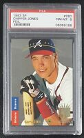 1993 SP FOIL CHIPPER JONES #280 ROOKIE RC PSA 8 NM-MT CENTERED SAME DAY SHIPPING