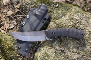 CUSTOM HANDMADE SURVIVAL TACTICAL KNIFE PERSIAN 10 LKW