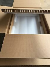 "Hexacomb & Foam Custom Box 33.5"" x 23"" x 9"" -  for shipping 2U Server"
