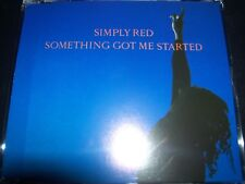 Simply Red Something Got Me Started Rae 4 Track CD Single - Like New