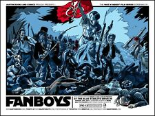 FANBOYS VARIANT LIMITED EDITION SILKSCREEN MOVIE POSTER BY TIM DOYLE STAR WARS