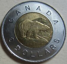 2004 Canada Toonie Two Dollar Coin (Mint Condition UNC.)