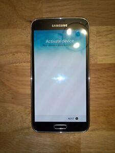Samsung Galaxy S5 SM-G900R4 - 16GB - Charcoal Black (U.S. Cellular) Smartphone