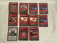 11 Star Wars CCG SWCCG EFFECT INTERRUPT Rare Card Lot WOOKIEE YOUNG FOOL ENDOR
