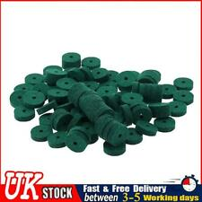 More details for 90pcs lightweight piano washers keyboard tuning felt ring pad tool green ✧