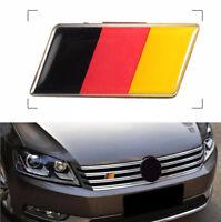 Fashion Car SUV Front Grille Bumper German Flag Emblem Badge Sticker Universal