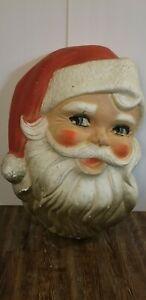 Vintage Styrofoam Santa Head