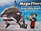 2011 Opened Box of Mega Fliers Giant Flying Inflatable Great White Shark 49MHz