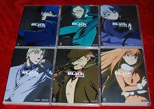 darker Than Black VOL. 1,2,3,4,5,6 (2009) COMPLETE ANIME COLLECTION DVD SET
