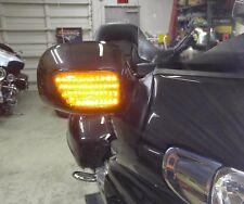 Honda Goldwing GL1800 Front LED Turn Signals - Smoke Lens