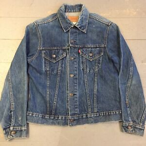 Genuine 1970s Levi's type III two pocket trucker jacket 40-42 Made In USA