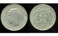 GRECE  50 lepta 1966