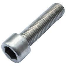 Stainless Steel Metric M6 x 1 x 20mm A2 Socket Head Cap Screw  pack of 10