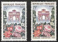 """FRANCE STAMP TIMBRE N° 1189 """"FLORALIES ARC DE TRIOMPHE,BELLE VARIETE"""" NEUFxx TTB"""