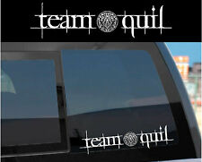 """Team Quil"" Sticker Decal for Twilight Wolf Pack & Jacob w/ tattoo design too!"