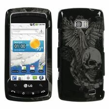 Skull Wing Hard Case Snap on Cover for LG Ally VS740