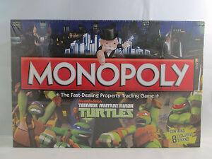 Monopoly Teenage Mutant Ninja Turtles TMNT Nickelodeon NEW