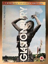 GLASTONBURY ~ 2006 Festival Música Documental Disco 2GB DVD con / FUNDA