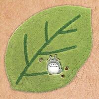 Ghibli My Neighbor Totoro Leaf shape Accent Mat Cute 46×70cm Green Studio