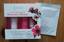 LANOCREME Day, Night & Eye Cream Manuka Collagen Hyaluronic + FREE mask