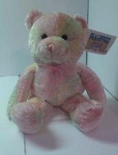 "Animal Alley Tie Dye Teddy Bear 16"" stuffed animal toys r us NEW with tags"