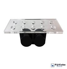 Fiji Cube 10 Holes Magnetic Coral Frag Rack - (Black)