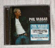 new sealed Phil Basset PRAYER OF A COMMON MAN 2008 CD