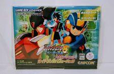 Rockman Exe 5 Limited Edition blue mega man battle network gba gameboy advance