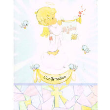 PRECIOUS MOMENTS Confirmation INVITATIONS (8) ~ Party Supplies Stationery Cards