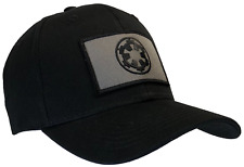 Star Wars Imperial Hat Black Ball Cap 100% Cotton Structured