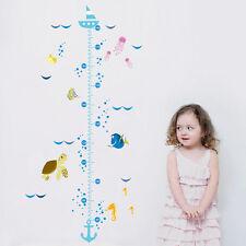 Finding Nemo II Height Chart Kid Room Wall Sticker Vinyl Decal Nursery Decor DIY